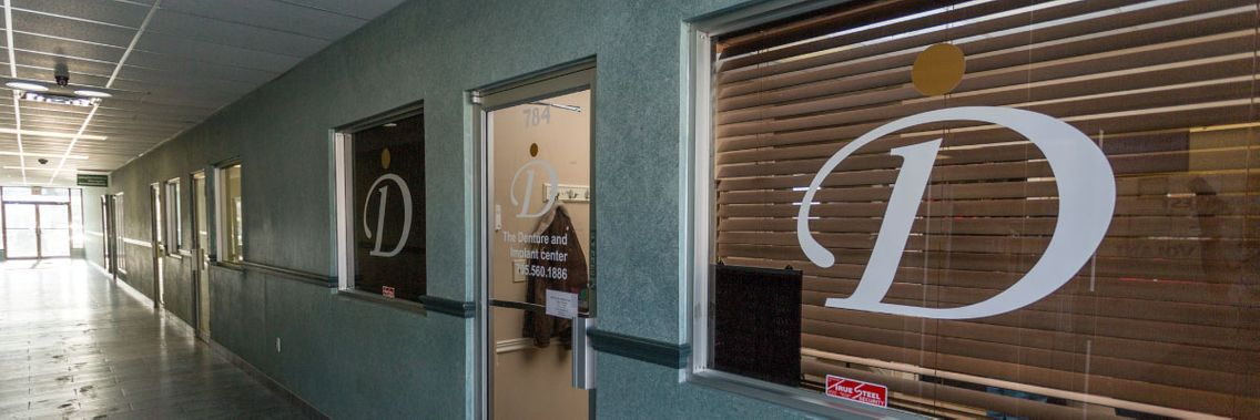 Denture & Implant Services entrance